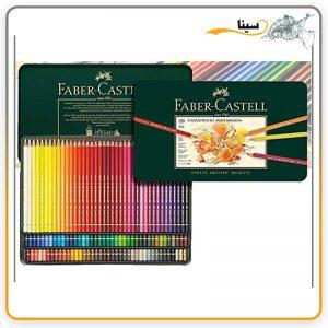مداد رنگی فابر کاستل پلی کروم 120 رنگ