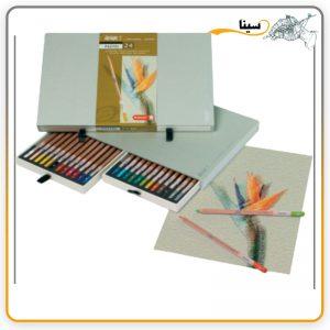 مداد پاستل دیزاین 24 رنگ