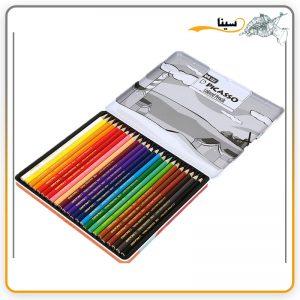مداد رنگی پیکاسو آرتیست 24 رنگ