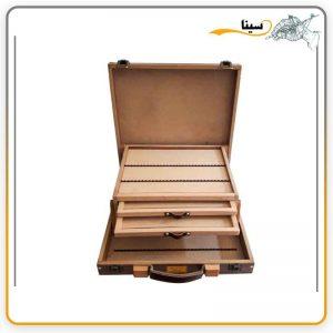 جعبه چوبی مدادرنگی 120 رنگ