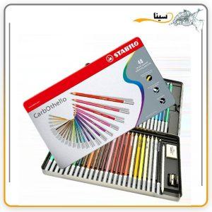 مداد پاستل استابیلو 48 رنگ